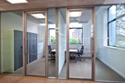 Infinity Edge Double Glazed Pivot & Hinged Doors