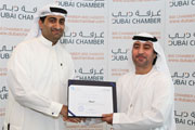 Intercoil International honoured with Dubai Chamber CSR Label for 2012.
