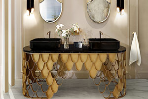 Interiors with Personality - Mid Century Bathrooms