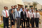 International delegation compliments 'The Sustainable City' project