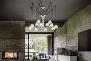 Italamp Adria, the contemporary alternative to a chandelier