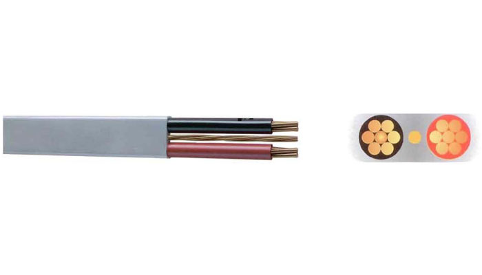 Flat Wires with Circuit Protective Conductor Cu/PVC /PVC