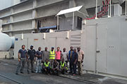 Jubaili Bros supplied soundproof generating set to Kainji Hydro-Power Station in Nigeria