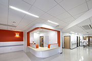 Knauf AMF takes care of hygiene and acoustics at Lister Hospital