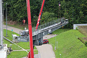 Konecranes modernises the rotary crane at the DLR test facility for rocket drives