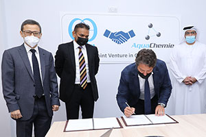 Kurita Europe and AquaChemie DMCC Set Up a New Joint Venture Entity to Serve the GCC Region
