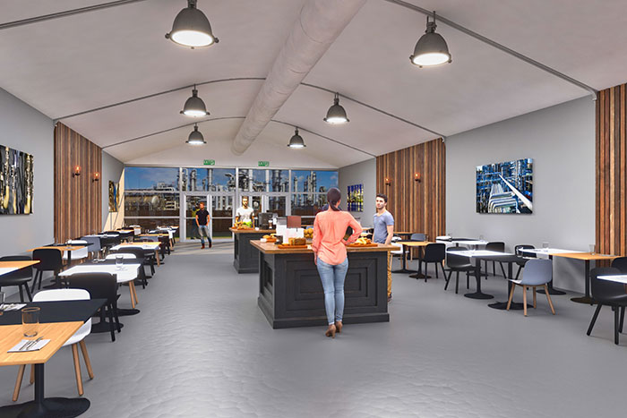 Losberger De Boer Delivers First Social Distancing Space Solutions To Support Reopening Plans