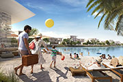 Majid Al Futtaim signs agreement to build a Crystal Lagoon and swimming beach