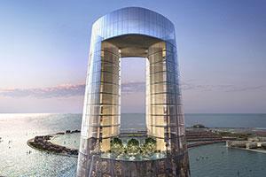 Major Construction Milestone for Ciel, The World's Tallest Hotel