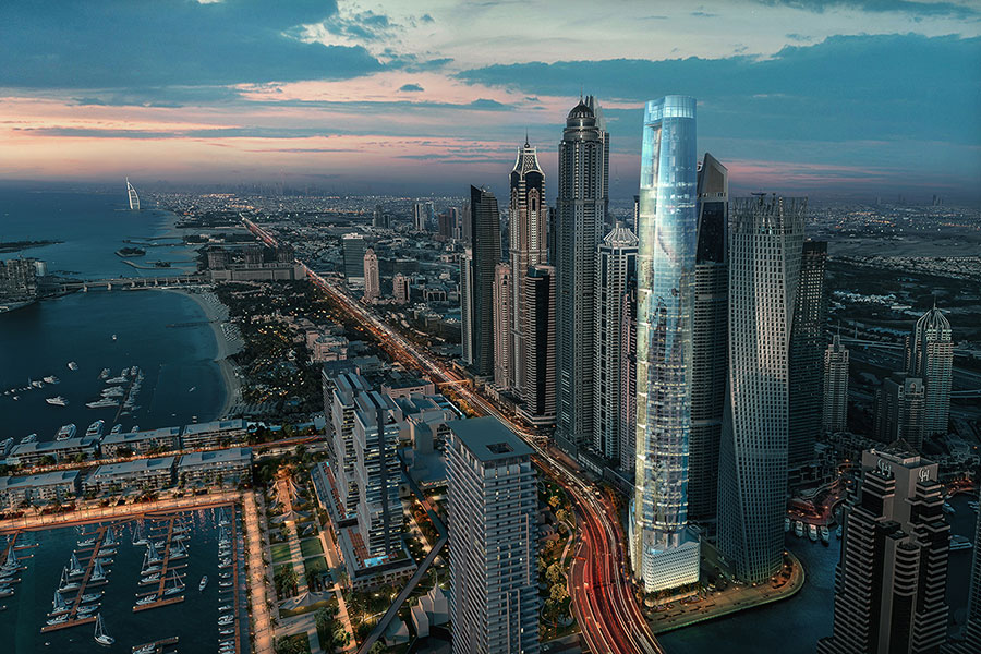 Major Construction Milestone for Ciel, The World's Tallest Hotel