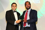 MAPEI wins Sustainable Supplier of the Year award at The Big Project + BGreen awards 2011.
