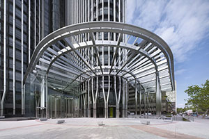 Middle East's Tallest All-Glass Automatic Revolving Doors