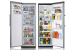 Modern and stylish designed refrigerators to fit your kitchens look.