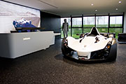Mono Supercar on Pole Position with Flowcrete's Showroom Floor