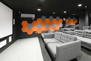 New Best in Class Student Environment with Class A Acoustics
