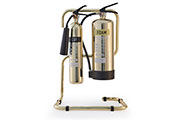 New design - Safely stylish luxurious fire extinguishers enhance interiors