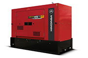 New HIMOINSA generators with Stage V engines
