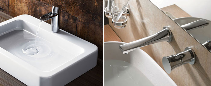 New Luxury collection mixers by Bagno Design.