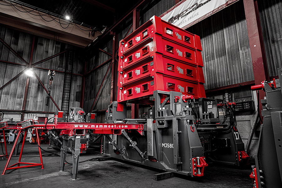 New Mega Jack 800 Towers Ready for Action