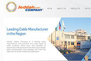 New websites for Jeddah Cable Company and Energya Cables-Saudi Arabia