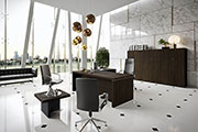 Newform Ufficio - President, The Executive Range In Canaletto Walnut