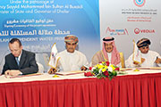 Oman Power and Water Procurement Company signed agreement to develop The Salalah Independent Water Project