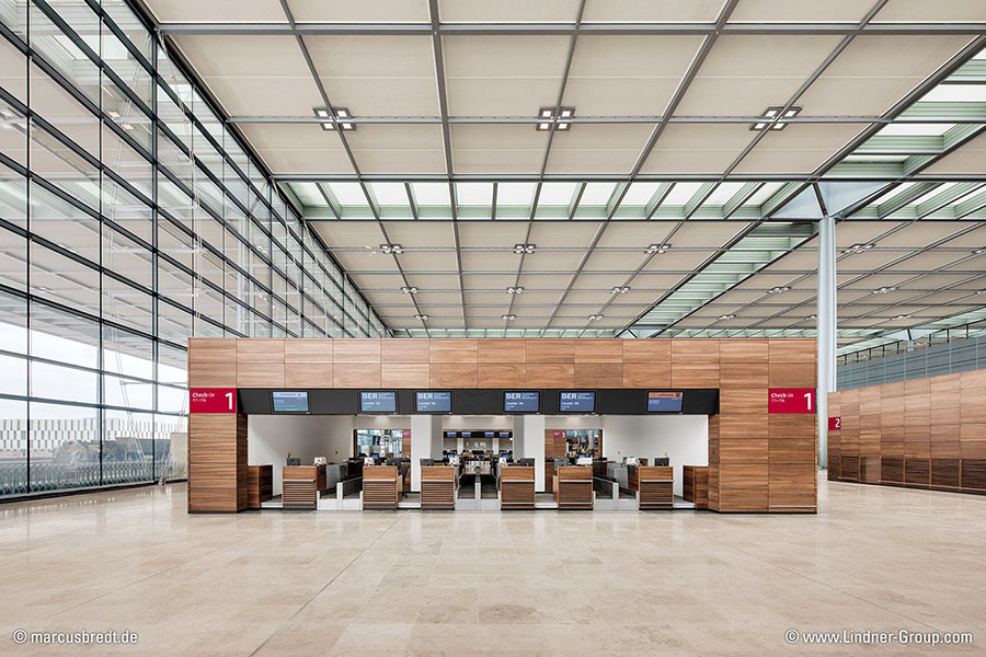 Opening of Berlin Brandenburg Airport BER - Lindner's Fit-Out Part