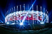 Osram illuminates 2012 European Football Championship.