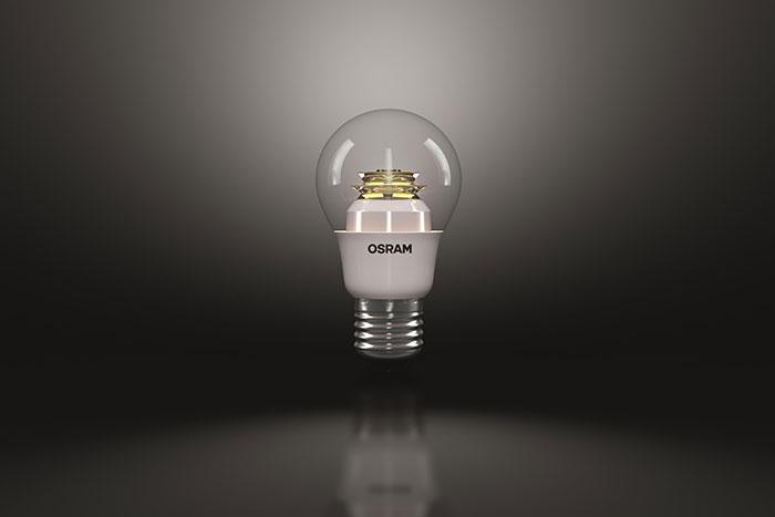 osram led lamp awarded the red dot award. Black Bedroom Furniture Sets. Home Design Ideas