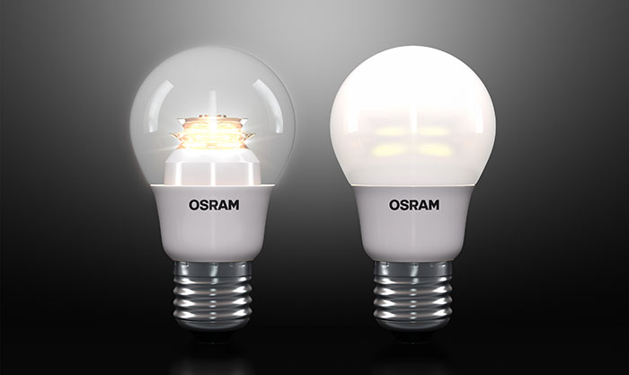 osram presents the first led light bulb made in germany. Black Bedroom Furniture Sets. Home Design Ideas