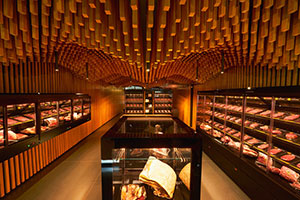Pantano Carni 'Tailor-Made' Meat Boutique with Criocabin Display Cases