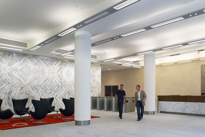 Park House at London's Finsbury Circus Upgrades Security with Boon Edam Optical Turnstiles