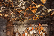 Poetic woven architecture features sustainable American red oak at the Venice Biennale
