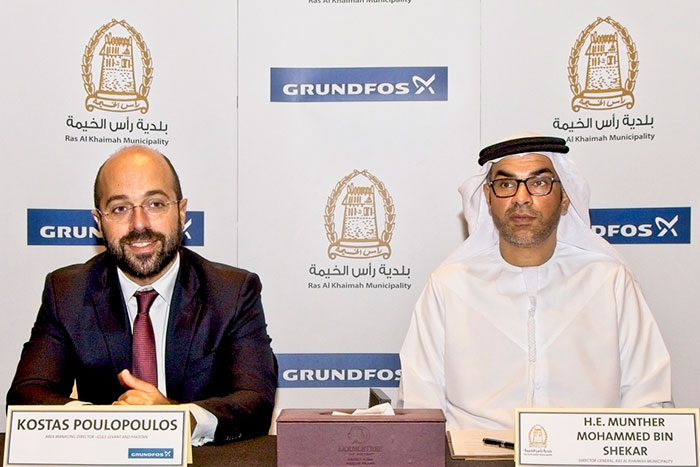 RAK Municipality Selects Grundfos to Explore Energy Efficiency in Pumping Systems