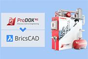 Rosberg integrates BricsCAD in ProDOK NG