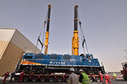 Savage Saudi Arabia Delivers Locomotives and Equipment to Support Rail Operations