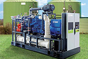 SDMO biogas generating sets - solutions to produce power and heat from biogas