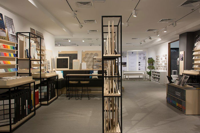 See tile design in an exciting new light at the BAGNODESIGN Tile Studio in Dubai