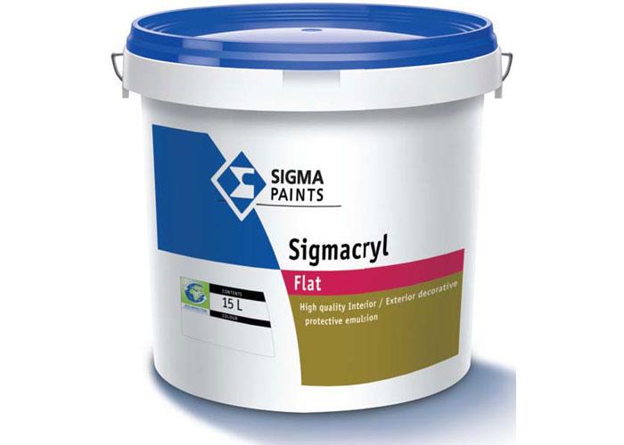 Sigmacryl Flat Sigma Paints S A Ltd