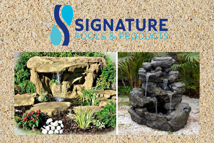 Signature Pools & Products: Leadership in landscaping