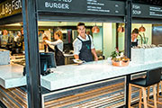 Silestone features trendsetting applications for Le Big Fish, Foodhallen Amsterdam - West
