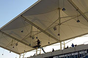 Structurflex Tensile Membrane at Al Gharrafa Sports Club, Qatar