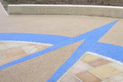 SureSet resin bound paving.