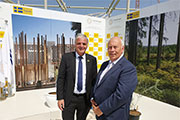 Sustainable air conditioning and ventilation at Swedish Expo 2020 pavilion