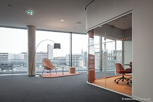 Sustainable Building with Lindner Life Glass Partitions