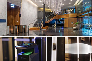 Sydney's Dexus Gateway Building Combines Boon Edam Turnstiles with Three Technologies