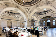 Tabanlioglu Architects renovate Beyazit Public Library in Istanbul