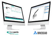 The BricsCAD format available on the TraceParts CAD-content platform
