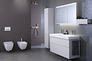 The Geberit bathroom series Smyle now has a new look