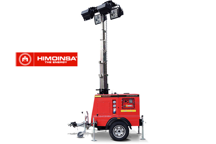 The HIMOINSA new lighting towers offer more autonomy less consumption and easier transportability  sc 1 st  AEC Online & The HIMOINSA new lighting towers offer more autonomy less ...
